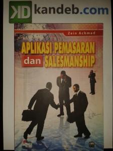 Aplikasi Pemasaran dan Salesmanship
