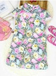 baju anak perempuan corak bunga
