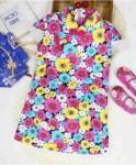 baju anak perempuan motif bunga