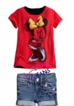 mini jeans micky mouse 2 pcs