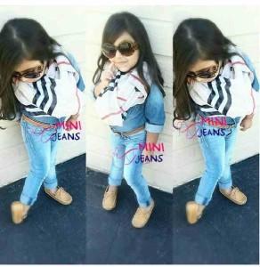 mini jeans 4 pcs