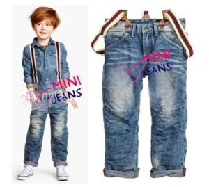 mini jeans for boys 3 pcs