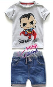 mini jeans superman