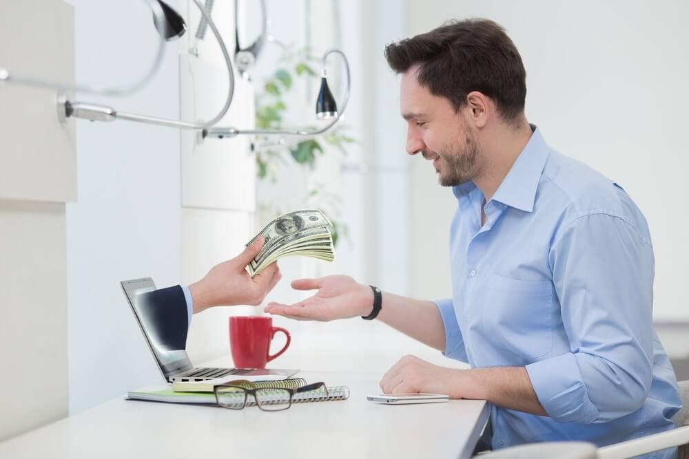 pencairan dana pinjaman besar