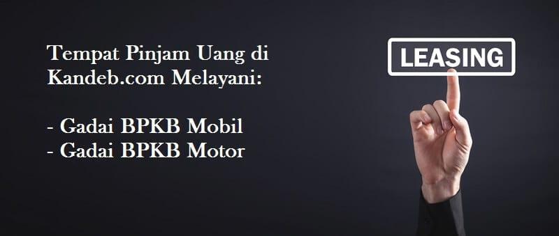 pinjam uang agunan bpkb mobil dan motor